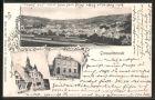 AK Grossalmerode, Ansichten mit Postamt und Rathaus