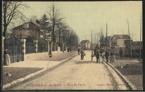 AK Villiers-sur-Marne, Rue de Paris