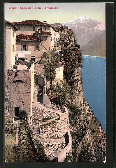 AK Tremosine, Cafe Restaurant am Lago di Garda