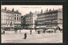 AK Bordeaux, Place Richelieu mit Strassenbahn