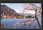 AK Menaggio, Blick auf den Ort am Comer See im Fr�hling