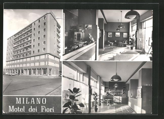 Ak milano motel dei fiori nr 6370584 oldthing for Motel milano