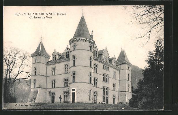 AK Villard-Bonnot, château de Vors