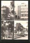 AK Arnstadt, Marienstift, Blick zum Kinderpflegeheim, Eingang Kinderpflegeheim, Haupteingang, Orthop�dische Klinik