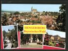 AK Hengersberg, Panoramaansicht, Kirchpartie, Kriegerdenkmal, Ortspartie
