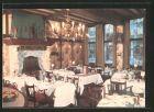 AK Antwerpen, Restaurant La Cigogne d\'Alsace, Wiegstraat 7-9, Innenansicht