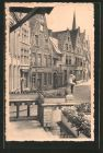 AK Lier / Lierre, Oude huizen achter het stadhuis, Vieilles maisons derri�re l\'h�tel de ville