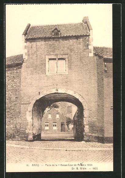 Ak amay porte de la basse cour de rouve nr 6382936 for Porte de cour