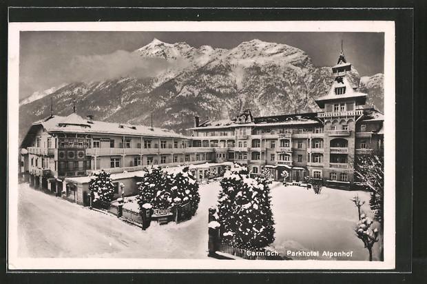 alpenhof garmisch
