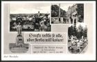 AK Bad W�rishofen, Panoramaansicht, Kneippstrasse, Kneipp-Denkmal, Kneipptretbecken