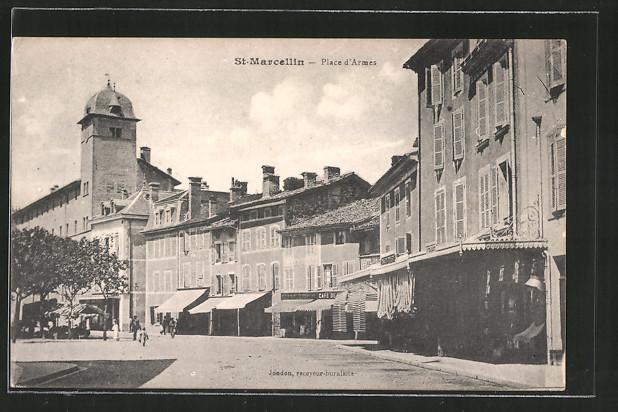 AK St-Marcellin, place d'Armes