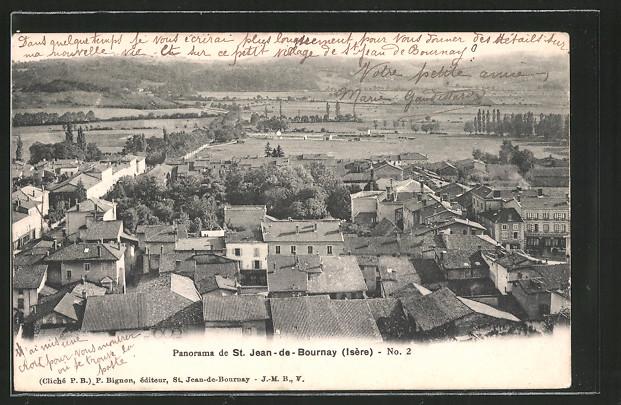 AK St. Jean-de-Bournay, panorama