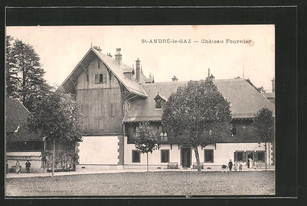 AK Saint-André-le-Gaz, château Fournier