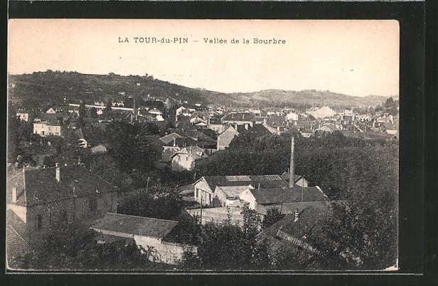 AK La Tour-du-Pin, vallée de la Bourbre