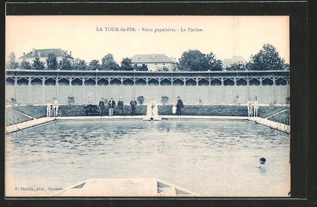 Ak la tour du pin bains populaires la piscine nr for Piscine la tour du pin