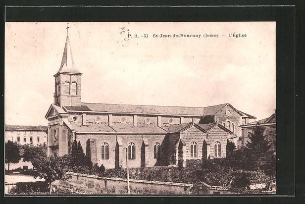 AK St-Jean-de-Bournay, l'eglise
