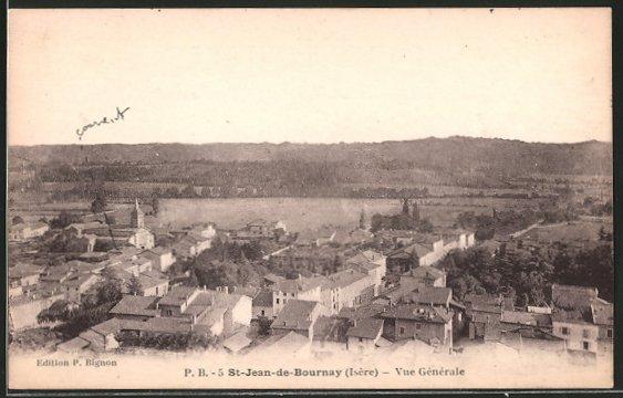 AK St-Jean-de-Bournay, vue générale