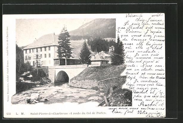 Ak saint pierre de chartreuse route du col de portes nr - Office du tourisme st pierre de chartreuse ...