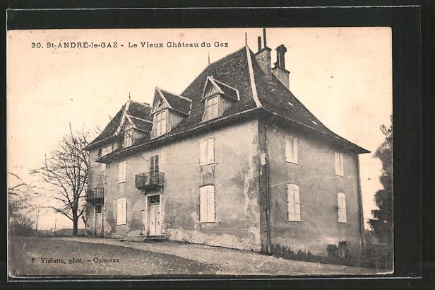 AK St-André-le-Gaz, le vieux château du Gaz