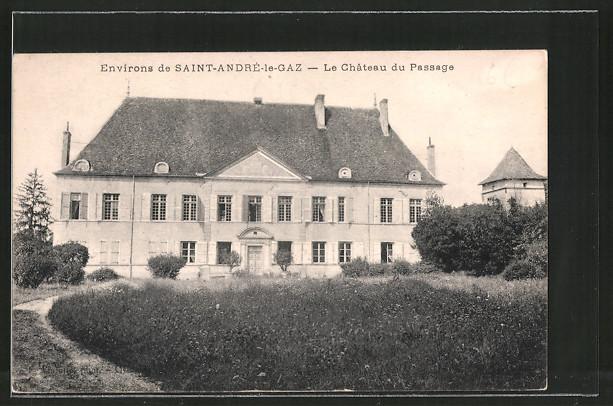 AK Saint-André-le-Gaz, le château de passage
