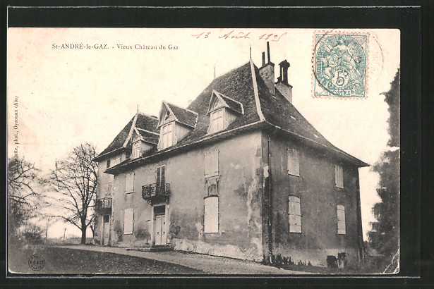 AK Saint-André-le-Gaz, vieux château du Gaz