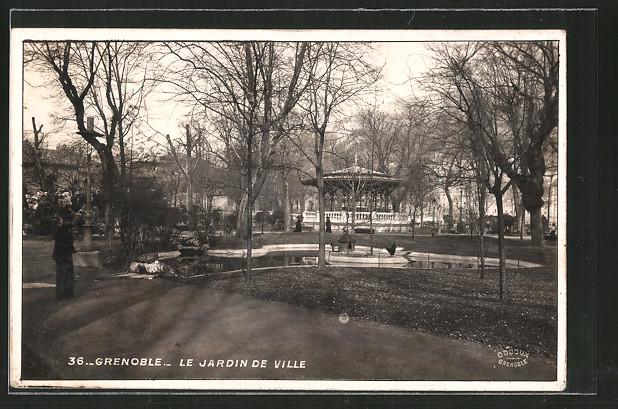 Ak grenoble le jardin de ville nr 6393044 oldthing ansichtskarten europa - Creche jardin de ville grenoble ...
