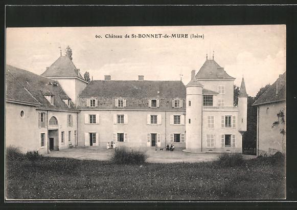 ak st bonnet de mure le ch teau nr 6393362 oldthing ansichtskarten europa belgien. Black Bedroom Furniture Sets. Home Design Ideas