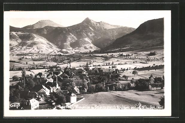AK St-Maurice-en-Trièves, vue générale et le Rouron