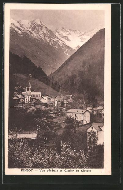 AK Pinsot, vue générale et glacier du Gleyzin