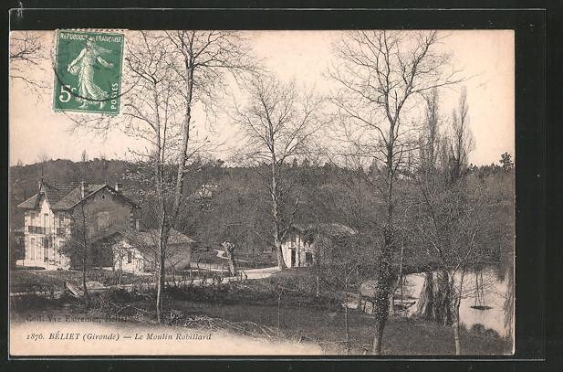 AK Béliet, la Moulin Robillard