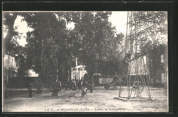 AK St-Médard-en-Jalles, Entrée de la poudrerie