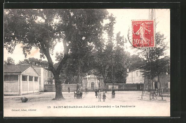 AK St-Médard-en-Jalles, La poudrerie
