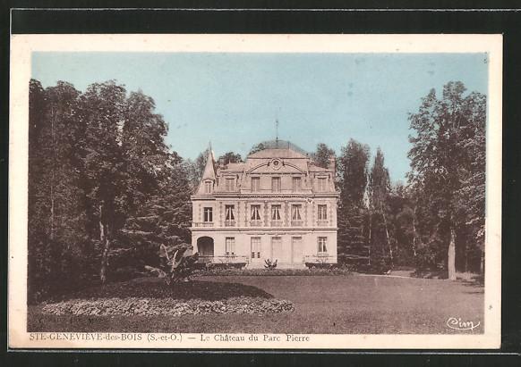 Garage Du Chateau Ste Genevieve Des Bois - AK Sainte Geneviéve des Bois, le ch u00e2teau du parc Pierre Nr 6402567 oldthing Ansichtskarten