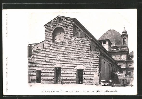 AK Firenze, Chiesa di San Lorenzo, Brunelleschi