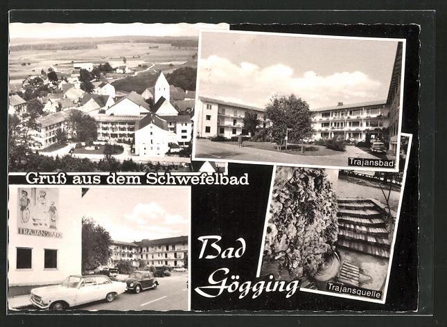 AK Bad Gögging, Trajansbad und Trajansquelle
