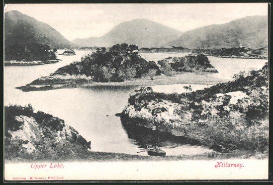 AK Killarney, Upper Lake, Ruderboot