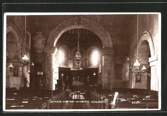 AK Worth, Interior of the Church