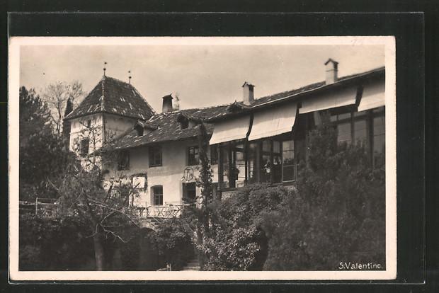 AK S. Valentino, Villa, Gebäudeansicht