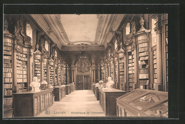 Ak louvain leuven biblioth que de l 39 universit for Interieur leuven
