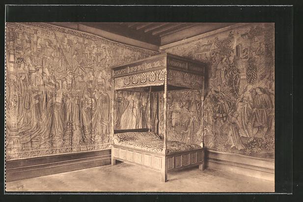 Ak gaesbeek chambre coucher dite des tapisseries - Tapisserie de chambre a coucher ...