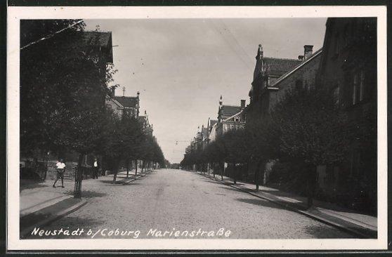 AK Neustadt, Partie in der Marienstrasse