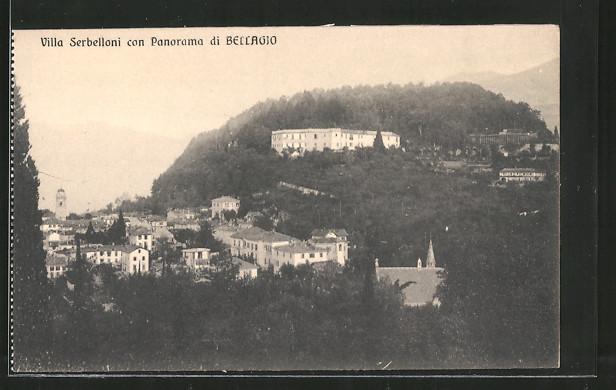 AK Bellagio, Villa Serbelloni con Panorama