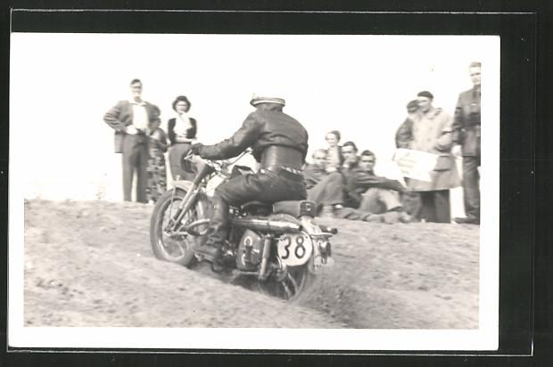 AK Motorrad GS, Zuschauer und Rennfahrer