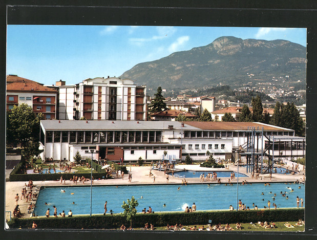 Ak trento piscina comunale municipal swimming pool stadtschwimmbad nr 6424734 oldthing - Piscina fogazzaro trento ...