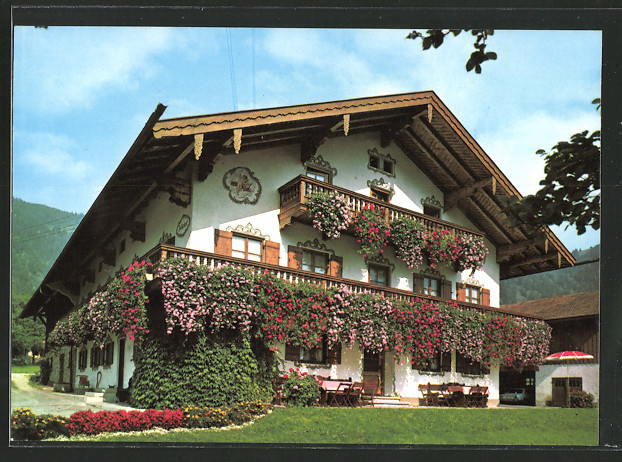 ak bayrischzell hotel zellerhof nr 6428945 oldthing ansichtskarten deutschland plz 80 89. Black Bedroom Furniture Sets. Home Design Ideas