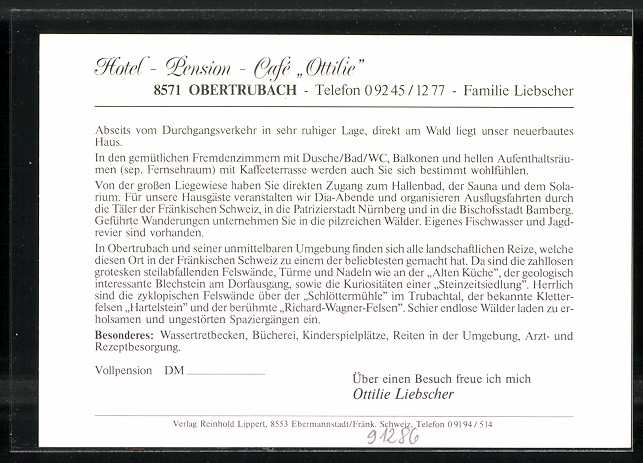 Hotel Ottilie Obertrubach Bewertung