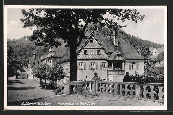 Hotel Zur Post Wirsberg