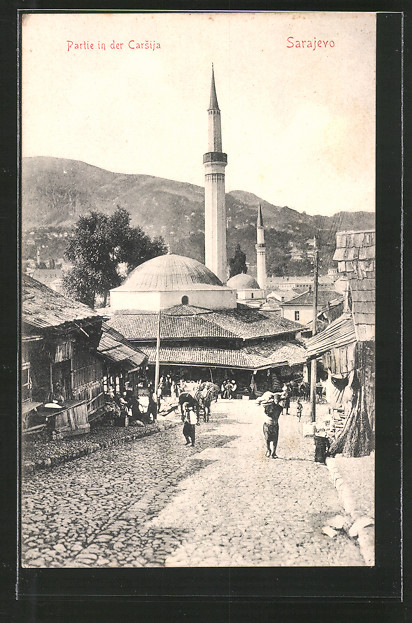 AK Sarajewo, Partie in der Carsija