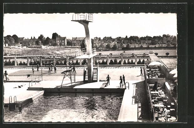 Ak limoges la piscine nr 6439252 oldthing for Piscine limoges