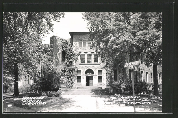 AK Oberlin, OH, Oberlin College, Severance Chemical Laboratory